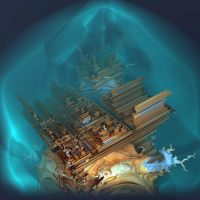 Emperors New Iteration Clouded Palace by MANDELWERK