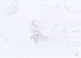 Riding the Storm - Quick Sketch by EOWDT