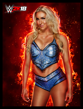 WWE 2K18 - Charlotte Flair by xWreckIntent