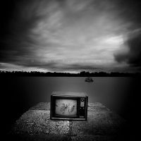 Fishing For TVs by CainPascoe