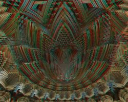 Stacked Arrowheads Stereo by DDDPhoto