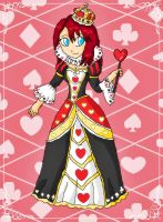 kairi queen of hearts by ninpeachlover