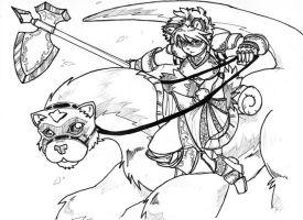 Ferret Cavalry. by tohofuhai