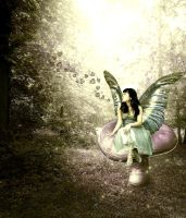 Lovestruck Fairy by VisualPoetress