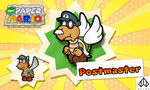 New Paper Mario: Postmaster by Nelde