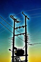 Electricity In The Skies by Blubie423