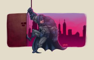 Batman - by redeve