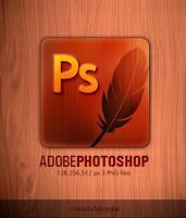 dock icon for Photoshop by mustafahaydar