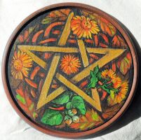 Automn pentacle by oshuna