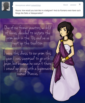 Ask Reyna - Prom by leukanthes