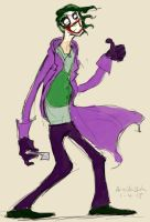 daily practice: joker by therealarien