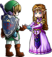 Ocarina Of Time CHIBI by HorrorPillow