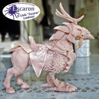 WIP2 - WoW Cenarion War Hippogryph - Sculpture by Escaron