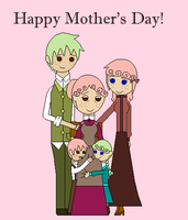 Happy Mother's Day, From the Roberts Family by blackblade94