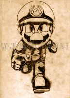 SSBT - Mario new version by PhazonRidley