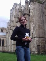 Miffy and I in York by miffystravels