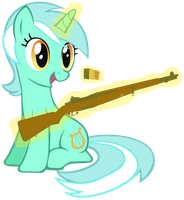 Lyra's Garand by totallynotabronyFIM