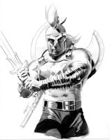 Dark Avengers Ares by mikemayhew