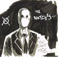 Kurt and the Slender Man- tell me the truth by TheConsultingArtist1