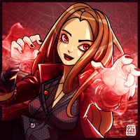 Scarlet Witch by goyong