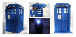 Tardis Cookie Box by xxsensi