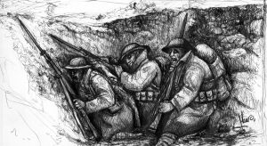Shell Shocked Tommies by el-Sheriff