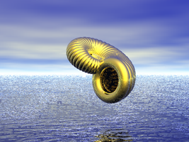Shell over the Ocean by Jaydi-Man