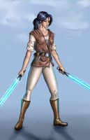 Jedi Knight by SquallLeonhart245