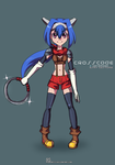 :Crosscode - Cryamore Costume: by Art47