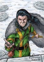 Loki - Classic Mythology by tonyperna
