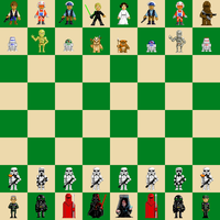 Star Wars PixelChess by HawkTheSlayer