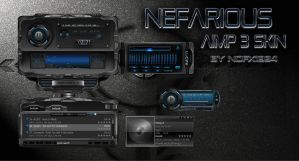 Nefarious Aimp3 skin by nofx1994