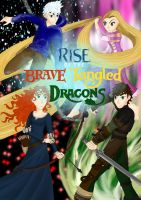 Rise of the Brave Tangled Dragons cover by CessieRose25