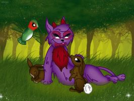 Forest Friends by QueenDanny