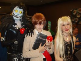 Death Note Cosplayers by eburel506