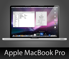 MacBook Pro with PSD by wafflez-art