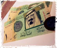 Saudi Riyal by zooz898