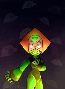 Peridot and the cluster by spvcepup