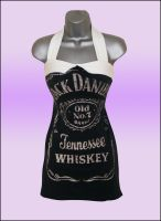 Jack Daniels 50s Style Reconstructed T Shirt Dress by Lolanova