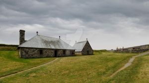 FORTRESS LOUISBOURG STORAGE BUILDING by lawrencebydesign
