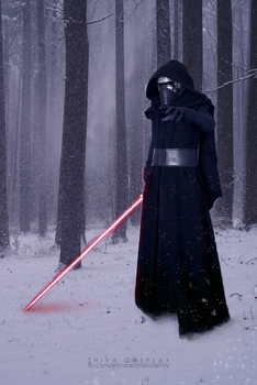 Kylo Ren cosplay by 14th-division