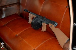 Tommy Gun in The Chevy 4door by CZProductions