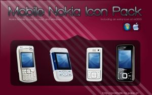 Nokia Mobile Icon Pack by Promatik