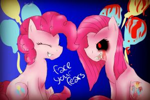 Face Your Fears, Pinkie by EspeonUmbreonLover