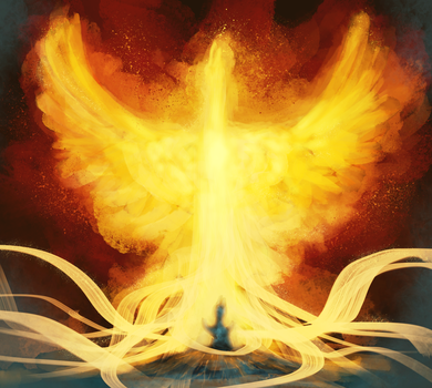 Birth Of A Phoenix by Robedirobrob