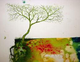 square tree no. 2 by cornproduct