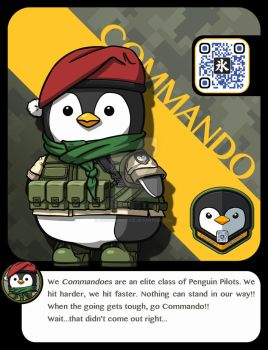 |M.A.M.U| - Penguin Pilot, Commando Class by FrostKnight-IcE