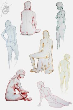 Life Drawing2 by AndromedaCollision