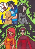 The Kids Sketch Cards colored by EquilibriumArts
