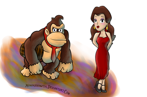 Lady Pauline and The Jungle King by MonoKhromatik